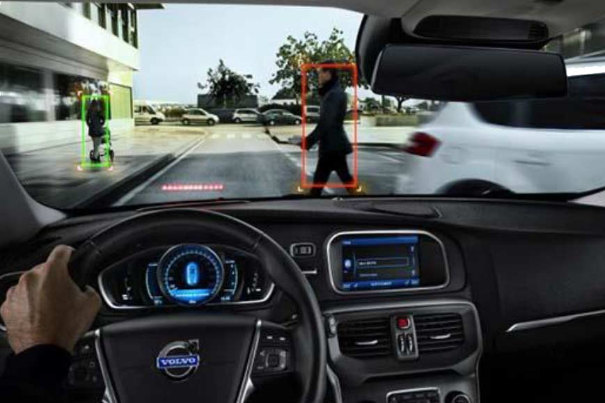 advanced driver assistance system pedestrian detection