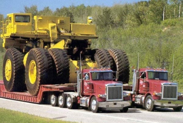 truck weight transportation